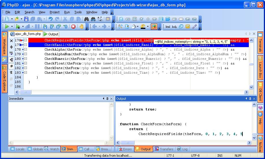 Ajax PHP Database Form