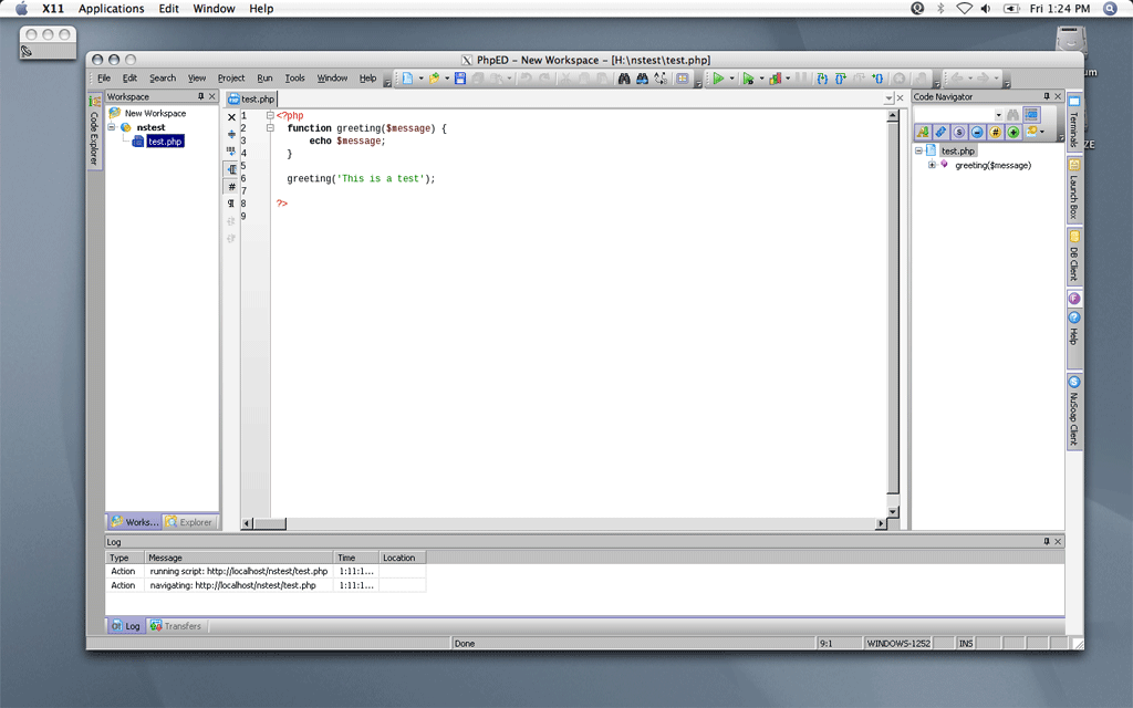 PHP IDE for Mac OS and Linux