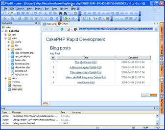 CakePHP PHP Viewer